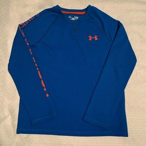 Under Armor Long Sleeved Shirt. Size Youth Large.